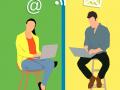 le tchat, un réseau de communication utilisé par les entreprises modernes