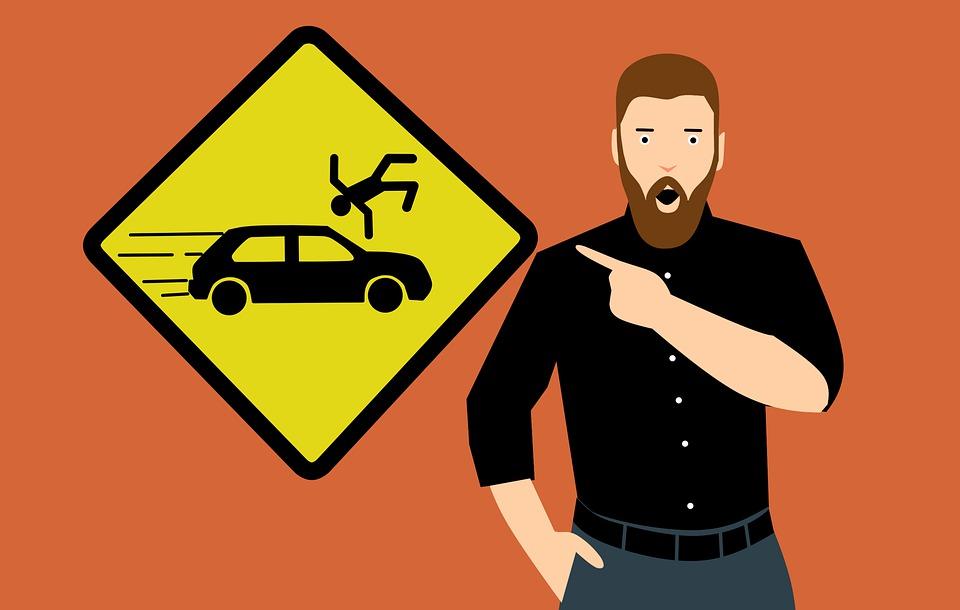 Que faire en cas d'accident de la route piéton?