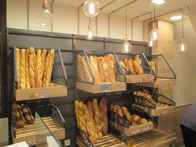La panetière, un élément important dans une boulangerie